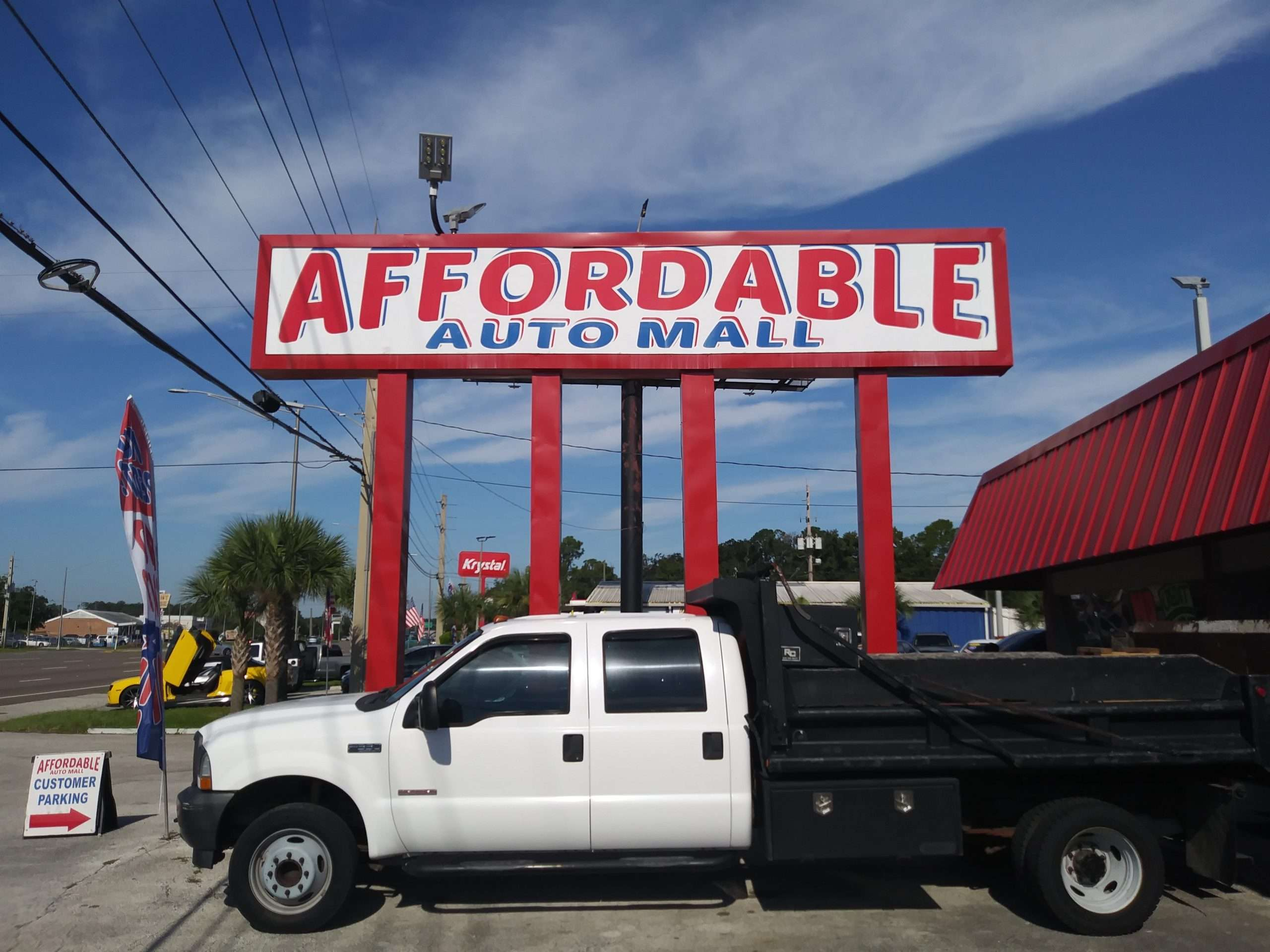 Affordable Auto Mall Large Sign - Jacksonville Fl