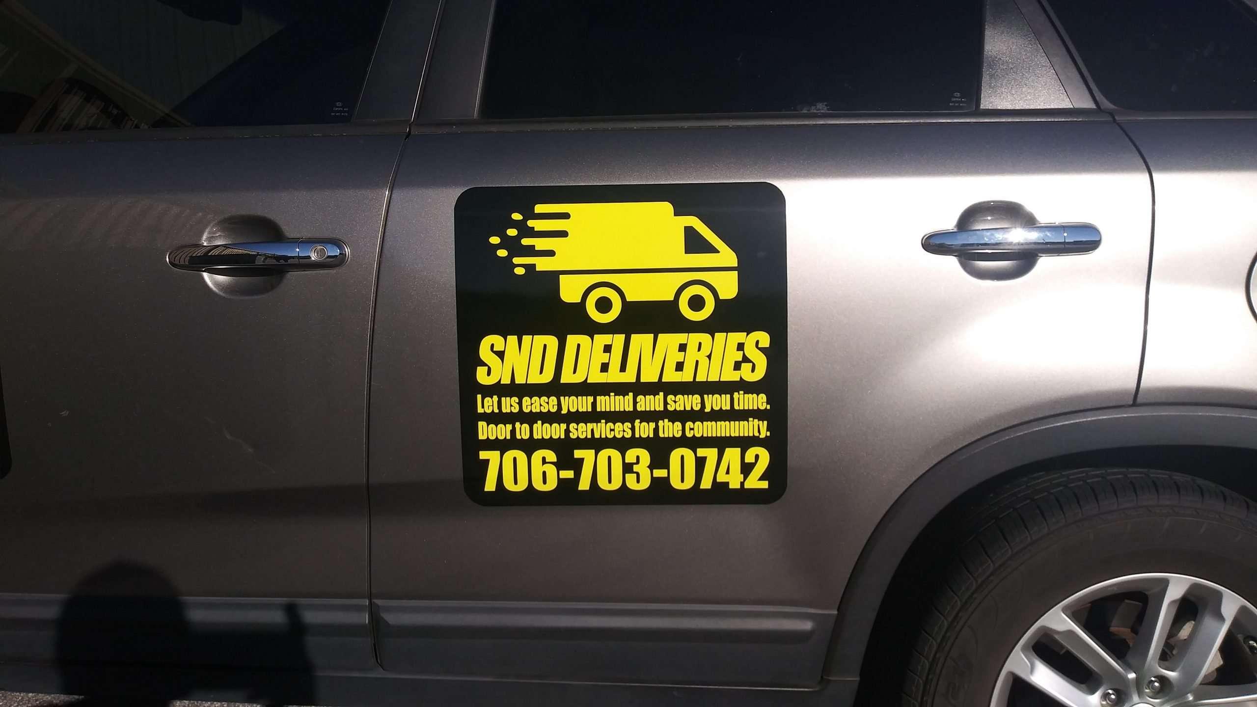 SND Deliveries Magnets Single