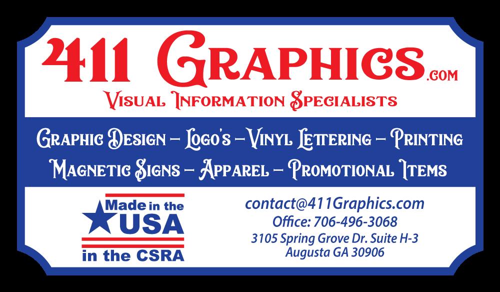 411 Graphics Logo Banner
