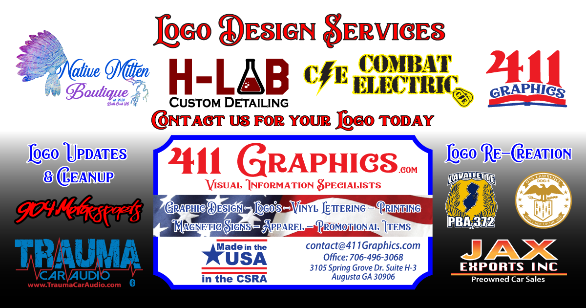 411 Graphics Logo Design Services Augusta Georgia